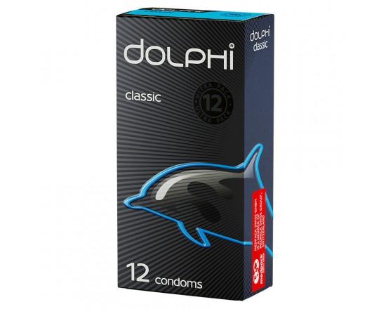 DOLPHI класические №12  Презервативы латексные